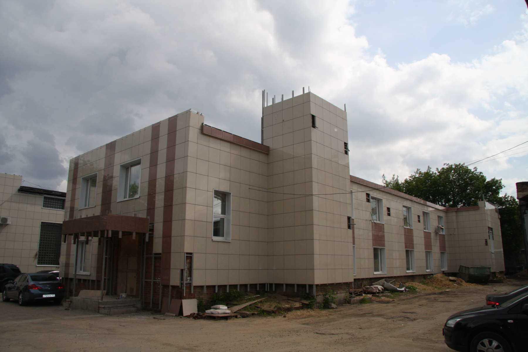 Офисный центр на ул. Коптевской